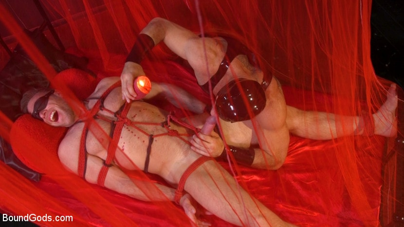 Alex Mecum - Bound Valentine: Alex Mecum Covered in Wax, Suspended, Pumped, Fucked | Picture (4)