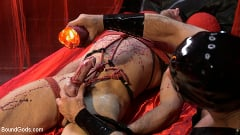Alex Mecum - Bound Valentine: Alex Mecum Covered in Wax, Suspended, Pumped, Fucked | Picture (9)