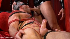 Alex Mecum - Bound Valentine: Alex Mecum Covered in Wax, Suspended, Pumped, Fucked | Picture (13)