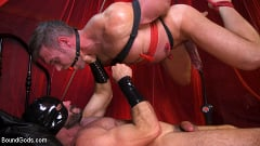Alex Mecum - Bound Valentine: Alex Mecum Covered in Wax, Suspended, Pumped, Fucked | Picture (20)