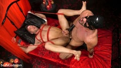 Alex Mecum - Bound Valentine: Alex Mecum Covered in Wax, Suspended, Pumped, Fucked | Picture (26)