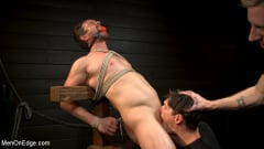Alex Mecum - KinkMen Presents CONSTRAINED: Athletic Men Bound, Punished, and Edged | Picture (15)