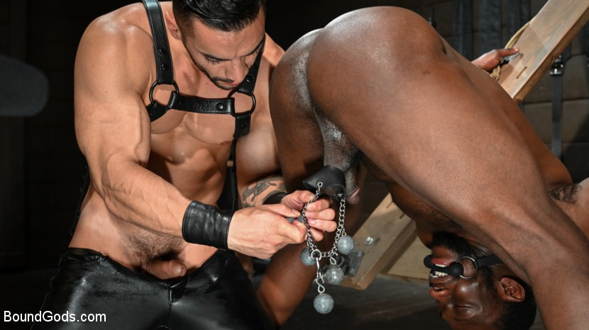 Arad Winwin - Fresh Muscle: Leather Clad Arad Winwin Punishes Newcomer Parker Payne | Picture (15)