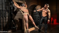 Arad Winwin - Fresh Muscle: Leather Clad Arad Winwin Punishes Newcomer Parker Payne | Picture (3)