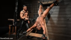 Arad Winwin - Fresh Muscle: Leather Clad Arad Winwin Punishes Newcomer Parker Payne | Picture (9)