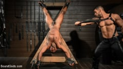 Arad Winwin - Fresh Muscle: Leather Clad Arad Winwin Punishes Newcomer Parker Payne | Picture (11)