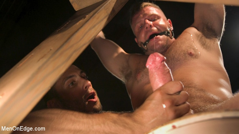 Brian Bonds - Built Boy Brian Bonds in Bondage takes Fat Toys, Tickling, Fucksaw | Picture (1)