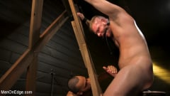 Brian Bonds - Built Boy Brian Bonds in Bondage takes Fat Toys, Tickling, Fucksaw | Picture (12)