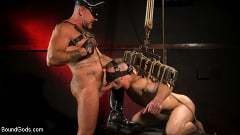 Brian Bonds - Pig Whore: Brian Bonds gets beat and worships Daddy Dyer's boots, feet | Picture (1)