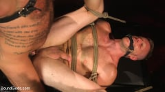 Brian Bonds - Pig Whore: Brian Bonds gets beat and worships Daddy Dyer's boots, feet | Picture (4)
