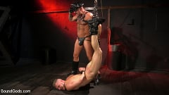 Brian Bonds - Pig Whore: Brian Bonds gets beat and worships Daddy Dyer's boots, feet | Picture (8)