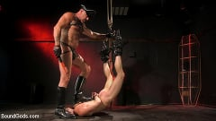 Brian Bonds - Pig Whore: Brian Bonds gets beat and worships Daddy Dyer's boots, feet | Picture (12)