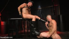 Brian Bonds - Pig Whore: Brian Bonds gets beat and worships Daddy Dyer's boots, feet | Picture (16)