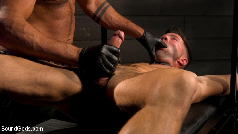 Casey Everett - My God Sharok: Casey Everett Worships New Leather-Clad Master | Picture (1)