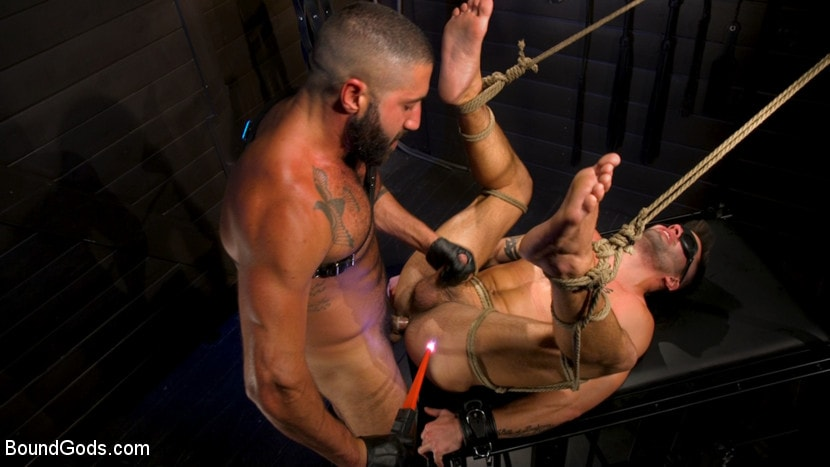 Casey Everett - My God Sharok: Casey Everett Worships New Leather-Clad Master | Picture (11)