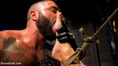Casey Everett - My God Sharok: Casey Everett Worships New Leather-Clad Master | Picture (3)