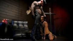 Chance Summerlin - Muscular Leather Daddy Smokes Cigars and Brutally Fucks Submissive Boy | Picture (12)
