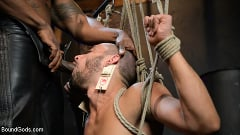 Chance Summerlin - Rat in a Cage: Chance Summerlin Serves Leather Muscle God Max Konnor | Picture (10)