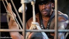Chance Summerlin - Rat in a Cage: Chance Summerlin Serves Leather Muscle God Max Konnor | Picture (16)