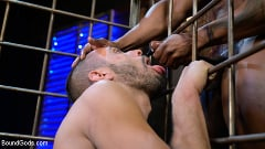 Chance Summerlin - Rat in a Cage: Chance Summerlin Serves Leather Muscle God Max Konnor | Picture (18)