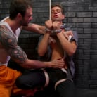 Cliff Jensen in 'Bad boy inmate Cliff Jensen breaks in new guard Michael DelRay'