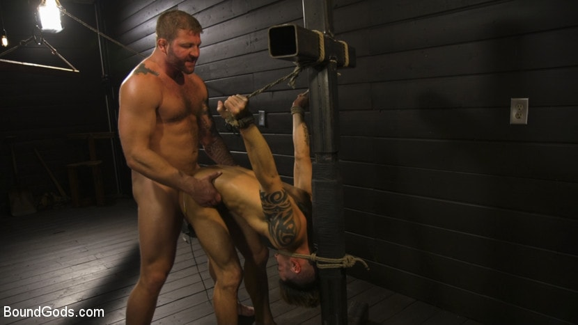 Colby Jansen - Fuck toy Casey Everett gets used by beefcake Colby Jansen | Picture (12)