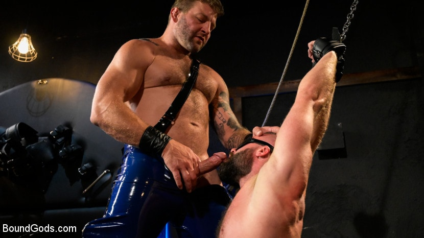 Colby Jansen - Leather and Latex: Muscle Stud Colby Jansen Dominates Donnie Argento | Picture (9)