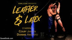 Colby Jansen - Leather and Latex: Muscle Stud Colby Jansen Dominates Donnie Argento | Picture (1)