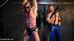 Colby Jansen - Leather and Latex: Muscle Stud Colby Jansen Dominates Donnie Argento | Picture (4)
