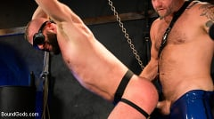 Colby Jansen - Leather and Latex: Muscle Stud Colby Jansen Dominates Donnie Argento | Picture (10)