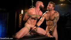 Colby Jansen - Leather and Latex: Muscle Stud Colby Jansen Dominates Donnie Argento | Picture (12)