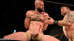 Colby Jansen - Leather and Latex: Muscle Stud Colby Jansen Dominates Donnie Argento | Picture (14)
