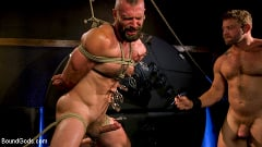 Colby Jansen - Leather and Latex: Muscle Stud Colby Jansen Dominates Donnie Argento | Picture (17)