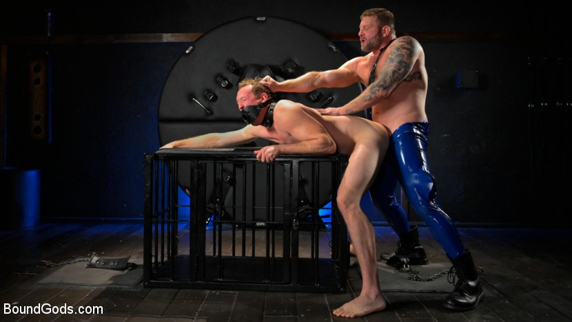 Colby Jansen - The Emasculation of Pierce Paris: Daddy Colby Jansen Stuffs Pierce RAW | Picture (12)