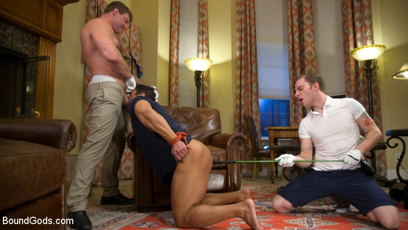 Colby Jansen - Valentine's Visitors: Draven Navarro Gets Whipped and DP'd | Picture (2)