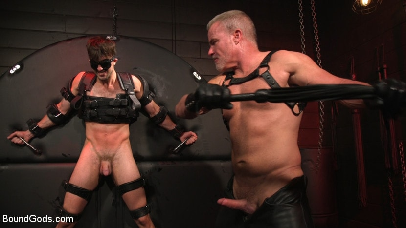 Dale Savage - Muscle Daddy Dale Savage Punishes Big-Dicked Mason Lear | Picture (23)