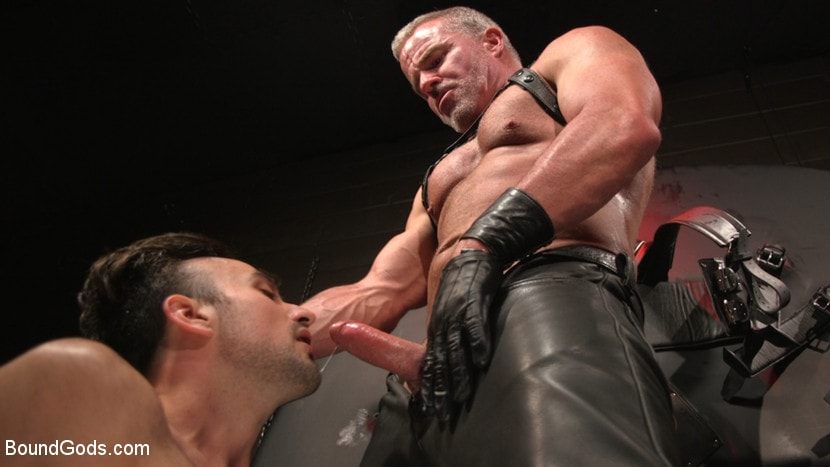 Dale Savage - Muscle Daddy Dale Savage Punishes Big-Dicked Mason Lear | Picture (29)