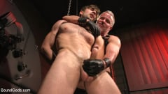 Dale Savage - Muscle Daddy Dale Savage Punishes Big-Dicked Mason Lear | Picture (11)