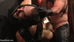 Dale Savage - Muscle Daddy Dale Savage Punishes Big-Dicked Mason Lear | Picture (27)