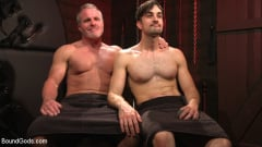 Dale Savage - Muscle Daddy Dale Savage Punishes Big-Dicked Mason Lear | Picture (34)