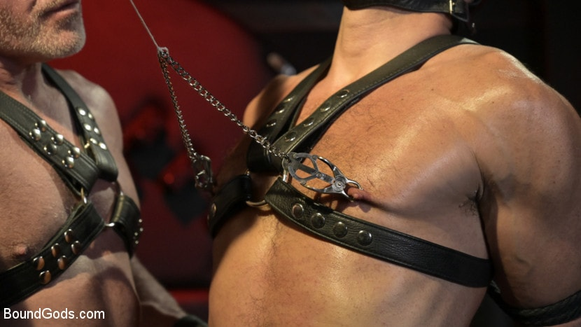 Dale Savage - Power Fuck: Hot Leather Men Inflict Muscle Domination and Intense Pain | Picture (2)