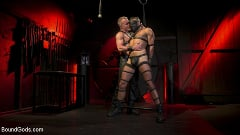 Dale Savage - Power Fuck: Hot Leather Men Inflict Muscle Domination and Intense Pain | Picture (1)