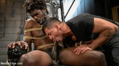Devin Trez - Taken and Edged: Leather Dom Devin Trez Submits to Dominic Pacifico | Picture (10)