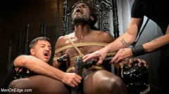 Devin Trez - Taken and Edged: Leather Dom Devin Trez Submits to Dominic Pacifico | Picture (14)