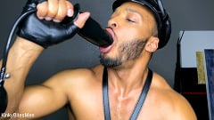 Dillon Diaz - Dillon Diaz: Uses Leather Gloves to Stretch His Hole and Milk His Cock | Picture (14)