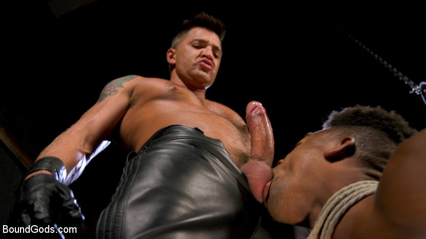 Dominic Pacifico - Dom Worship: Newcomer Adrian Hart Services Muscle God Dominic Pacifico | Picture (7)