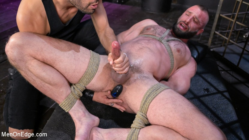Donnie Argento - Donnie Argento Tied Up and Edged in Rope Bondage | Picture (16)