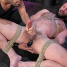 Donnie Argento in 'Donnie Argento Tied Up and Edged in Rope Bondage'