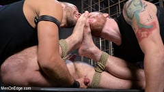 Donnie Argento - Donnie Argento Tied Up and Edged in Rope Bondage | Picture (12)