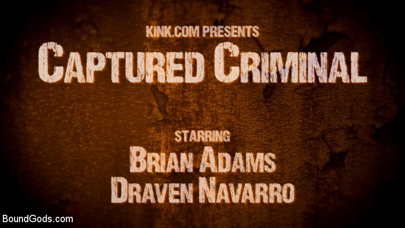 Draven Navarro - Captured Criminal: Hard Working Stud Gags and Punishes Wanted Thief | Picture (1)